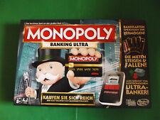 * MONOPOLY BANKING ULTRA * von Hasbro, TOP-Zustand !