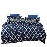 Printed Comforter Set W 2 Pillow Shams Luxurious Soft Brushed Microfiber Queen