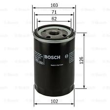 OIL FILTER BOSCH FILTRY 0 986 452 066