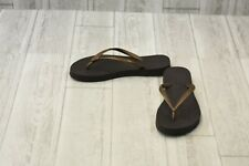 **Reef Casual Flip Flops - Women's Size 5, Brown