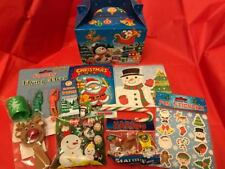 New 2 Filled Christmas Eve Boxes Treats, Sweets, Toys Gift Under Tree FREE POST