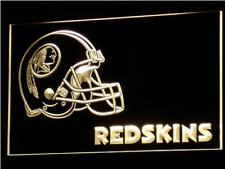 New Custom Washington Redskins LED Neon Light Signs Bar Man Cave 7 colors u pick