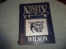 1992 WILSON MIDDLE SCHOOL YEARBOOK ALBUQUERQUE NM