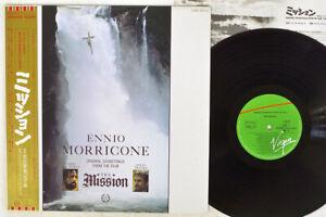 OST(ENNIO MORRICONE) MISSION VIRGIN 28VB-1133 Japan OBI PROMO VINYL LP