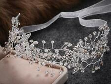 Diamante Wedding Hair Vine Crystal Bridal Accessories Beaded Hair Halo 1 Piece