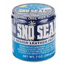 Sno Seal Original Bees Wax Leather Snow Protector Waterproofer - 7 oz (200 g)
