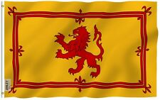Anley Fly Breeze| 3x5 Foot Scotland Rampant Lion Flag,Scottish Rampant Lion Flag