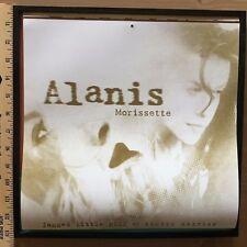 Alanis Morissette / Calendar Art Framed Jagged Little Pill / Rare Rhino Artwork