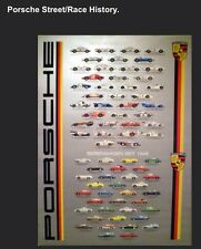 Porsche 5 Best Histories Set +1. One Time Deal! Car Poster FREE SHIPPING In USA