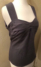 Boston Proper Seamed Detail Sexy Sweetheart Cut Out Back Bra Top NEW M 10-12