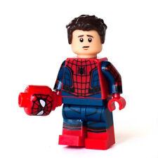 Custom Bricks Infinity War Spider-Man Spiderman Peter Parker Minifigure