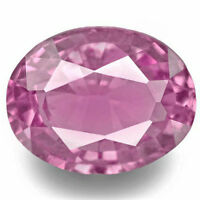 MADAGASCAR Pink Sapphire 0.94 Cts Natural Untreated Pink Oval