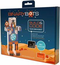 BinaryBots - DIMM Coding Robot w/ micro:bit - Build And Code Your Own Robot STEM
