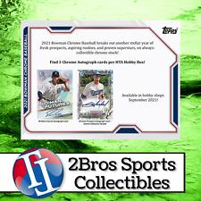 2021 Bowman Chrome 12 HTA Choice Box Case Break 9/28 5pm CST - Padres