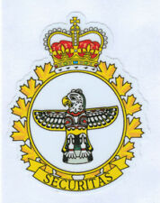 CANADIAN MILITARY POLICE BADGE DIE CUT LAMINATED VINYL STICKER 100MM HIGH