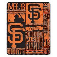 San Francisco Giants Fleece Throw Blanket
