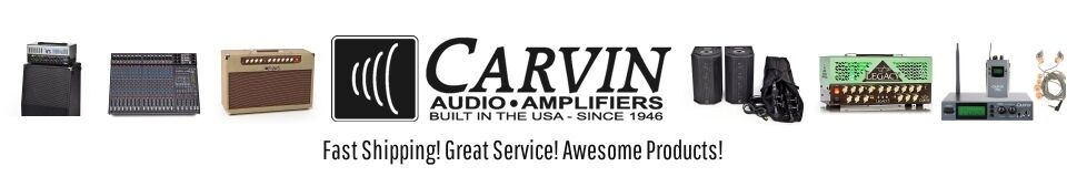 Carvin Audio & Amplifiers USA
