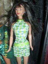MATTEL BARBIE 1980-Asian-Barbie-Doll-Mattel-Kira-MIKO 1 PC DRESS CHECKERED
