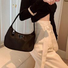 Retro Baguette Bags For Women Trendy Vintage Nylon Handbag Female Small Subaxill