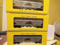 American Models 3 S Gauge 2008 WHICHITA TOY TRAIN CLUB 4 BAY HOPPERS HI RAIL RTR