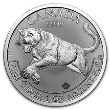 1 oncia 999 Argento Moneta d'argento Canada Predator Puma Serie 2016 5 CAD $