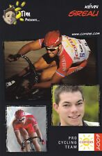 CYCLISME carte cycliste KEVIN SIREAU équipe COFIDIS 2009