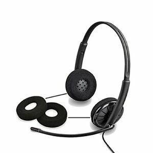 Plantronics 88225-01 Ear Cushion Foam Qty 2 Blkwire C210 C320 (8822501)