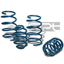 "04-07 SATURN ION LSJ BLUE COIL SUSPENSION LOWERING SPRINGS 1.75""FRONT/REAR DROP"