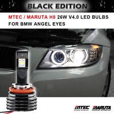 MTEC / MARUTA H8 V4 26W LED Angel Eye Bulb New for BMW E90 Sedan Facelift 09-11