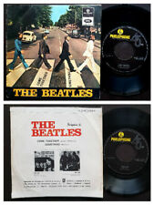 THE BEATLES SINGLE MADE IN PORTUGAL 45 PS 7 *COME TOGETHER / SOMETHING*