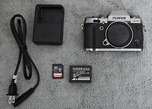 Fujifilm X-T1 16.3 MP Mirrorless Digital Camera Body Graphite Silver - EXC+