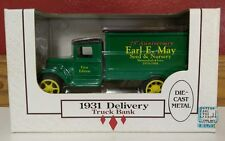 Ertl 1931 Earl May Delivery Truck 1st Edition 75th Anniversary New In Box