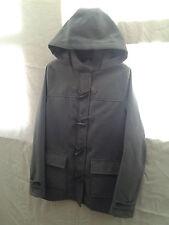 Montgomery Kangol cappotto, colore grigio, taglia small.