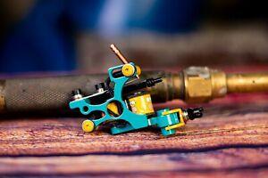 Handmade tattoo machine fine liner 3-11rs -Running 145-150 Hz @ 4V, 140 grams
