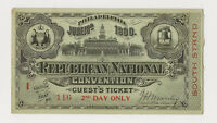1900 REPUBLICAN CONVENTION - PHILADELPHIA - GUEST - LIBERTY HALL - PRICED RIGHT!
