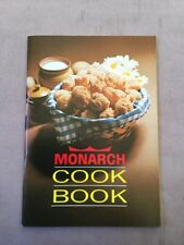 Vintage Monarch Cook Book From Monarch Fine Foods Limited 1960's