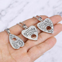 Antique Vintage Style Gothic Ouija Board Pendant Necklace Jewelry Halloween Gift