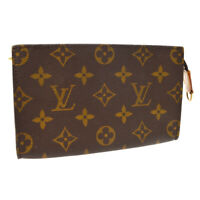 LOUIS VUITTON BUCKET PM PURSE ATTACHED POUCH PURSE MONOGRAM SR0918 A53721