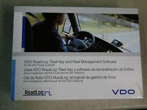 VDO RoadLog Fleet Key and Fleet Management Software NOS