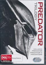 Predator Trilogy DVD Region 4 NEW Arnold Schwarzenegger