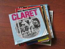 Barnsley Home Teams A-B Football Programme Collections/Bulk Lots