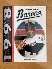 Birmingham Barons 1998 Program - Chicago White Sox Minor League Baseball