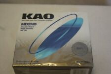 "KAO 5.25"" Floppy Disk MD2HD Double Sided High Density 96 TPI: 10 pack Sealed"