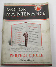 Motor Maintenance Magazine  Equipment For Motor Cars  March 1931 100914lm-e