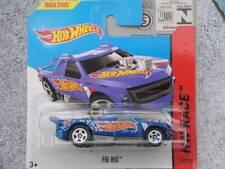 Hot Wheels 2014 #143/250 Figurine PLATE-FORME bleu HW COURSE Lot H