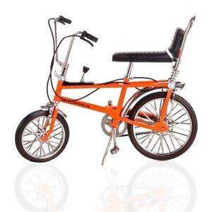 1:12 Scale Chopper Mk 1 Bicycle Die-Cast Model Brilliant Orange TW41600O