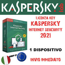 KASPERSKY INTERNET SECURITY 2021 🔑 1 Dispositivo [PC o Mac] 1 Anno - 🇮🇹 🇪🇺