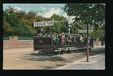 Lancashire Lancs BLACKPOOL Circular Tour Car #70 PPC used c1911/12 by E R G & Co