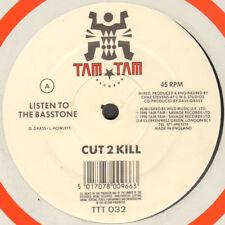 Cut 2 Kill – Listen To The Basstone - Tam Tam Records – TTT 032 - Uk 1990