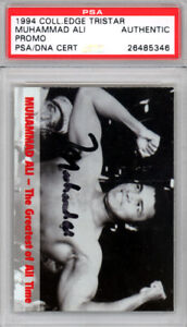 Muhammad Ali Autographed Signed 1994 Collector's Edge Card PSA/DNA 26485346